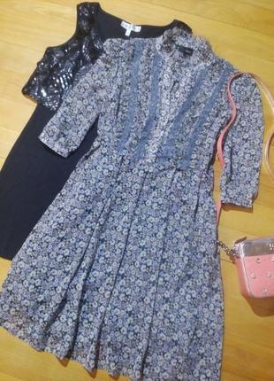 Милое шифоновое платье next