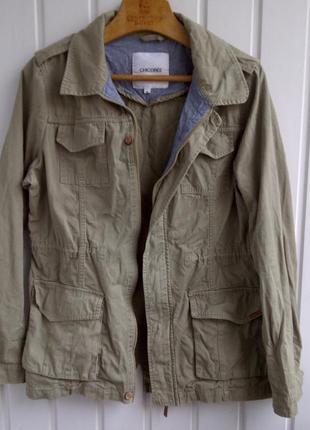 Треккинговая куртка в стиле милитари chicoree