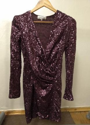 Платье в паетках,вечернее платье,блестящее платье,новогодние платье