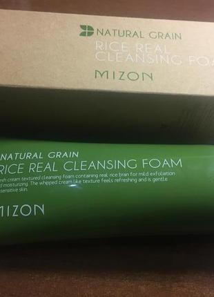 Пенка для умывания mizon
