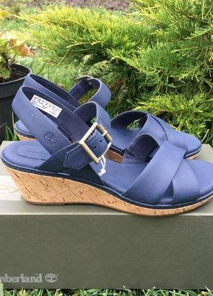 Женские новые босоножки timberland 37 - 37,5 р. сандали кожаные оригинал