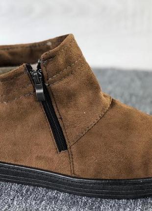Мужские низкие угги,ботинки коричневые! ts-shoes 42-45р!