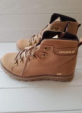 Ботинки зимние caterpillar khaki р-р 42