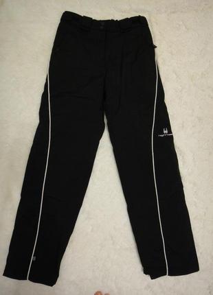 Крутые теплые мембранные, настоящие лыжные брюки highroad р.164 р. 44-46 германия
