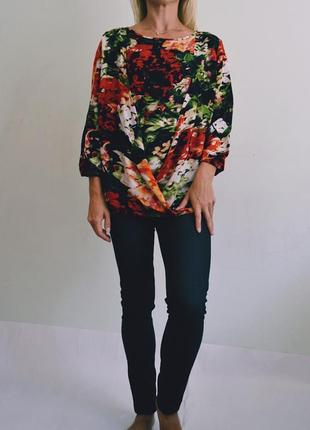 Двойная блуза с запахом