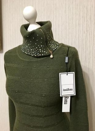 Распродажа! свитер новый джемпер размер s-m классный состав