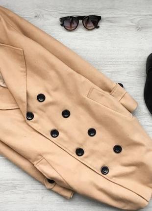 Крутое актуальное рыжое пальто ochenta