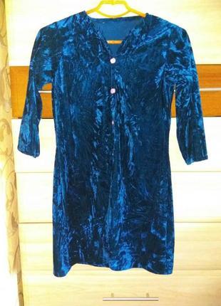 Велюровое платье,туника