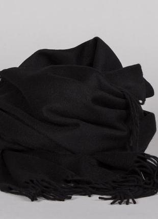 Шерстяной шарф палантин moss copenhagen (дания) # 100% шерсть