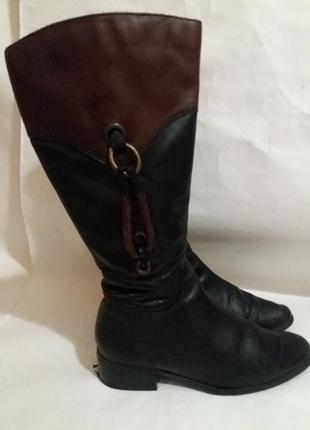 Сапоги кожаные размер 36