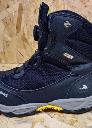 Треккинговые зимние ботинки viking gore-tex 37 размер