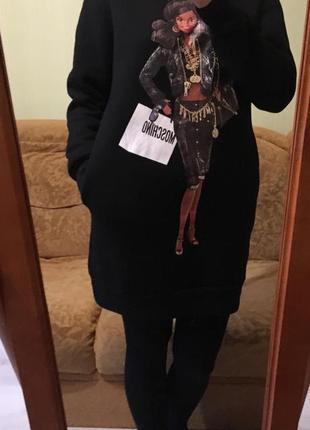 Платье-свитшот moscino