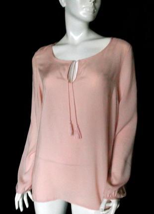 Красивая блуза с длинным рукавом miss etam