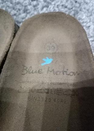 Крутые шлепанцы blue motion !2