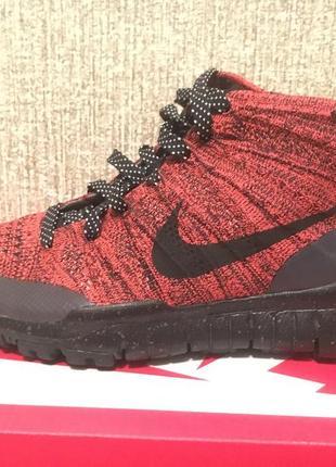 Nike flyknit trainer chukka