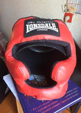Lonsdale тренировочный шлем для единоборств/бокса