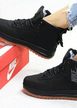 36-42 зимние женские кроссовки nike air force 1 ботинки женские жіночі зимові