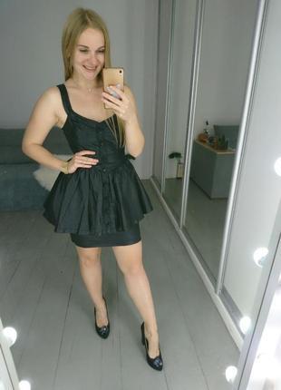 Актуальное джинсовое платье №67  miss selfridge