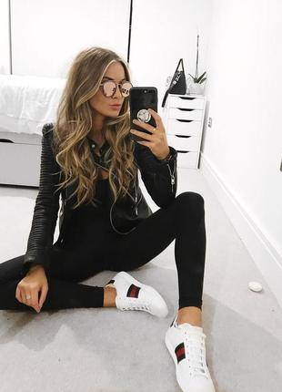 🌿 черные, базовые джинсы скинии от f&f высокая посадка, хорошая длина