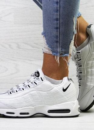 Зимние кроссовки  air 95 ботинки женские жіночі зимові кросівки