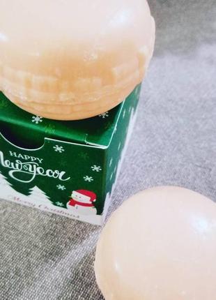 Ароматные макарунчики, натуральное мыло с ароматом апельсина