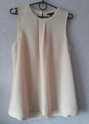 Блузка цвета пудры  warehouse размер 40