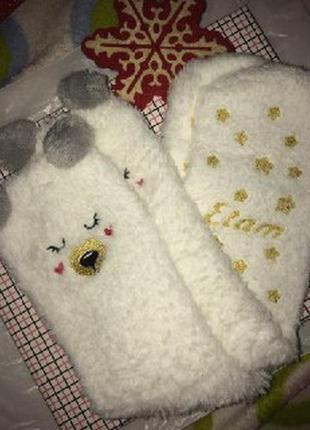 Носки в новогоднем стиле etam