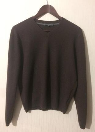 Кашемировый пуловер от rene lezard, 48(s/m)