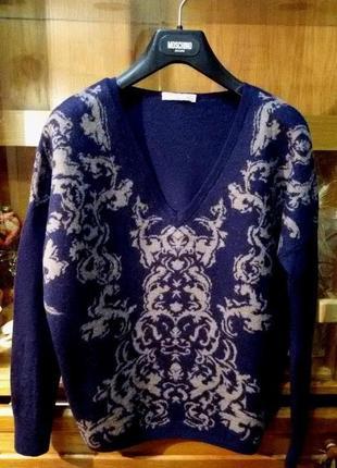 Стильный,красивый свитер alberto bini,лама