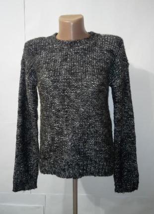 Подростковый вязаный свитер кофта gap. 12-13 лет 150 см