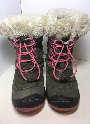 Замшевые зимние ботинки jambu 32 р стелька 20 см
