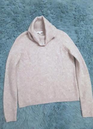 Тёплый мягкий уютный свитер с шерстью альпаки opus