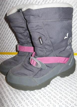 Зимние серые термо сапоги ботинки дутики утепленные quechua 37 размер
