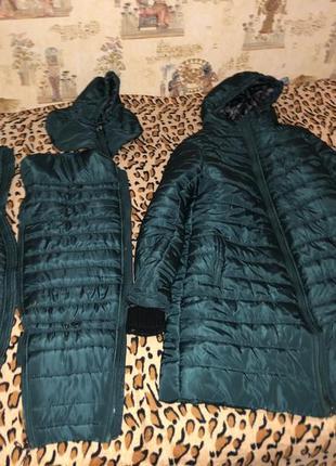 Пальто для беременных слингопальто пуховик