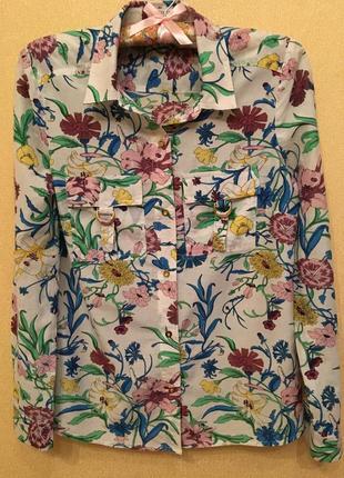 Рубашка шёлк коттон cortefiel