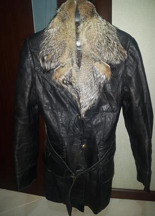 Кожаная курточки