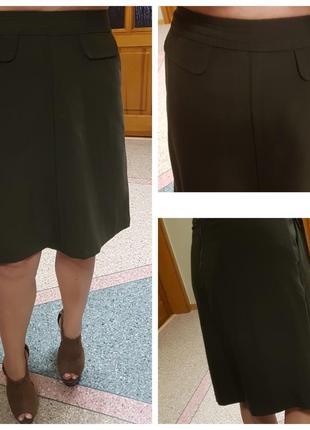 Демисезонная юбка next с карманами