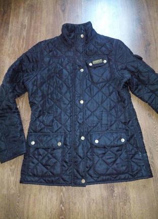 Весенняя куртка с флисовым утеплителем