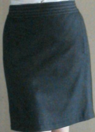 Стильная шерстяная юбка marks&spencer