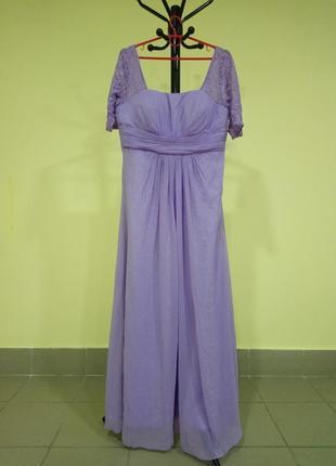 Лавандовое вечернее платье ever pretty