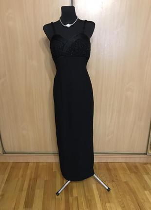 Шикарное вечернее платье от john charles