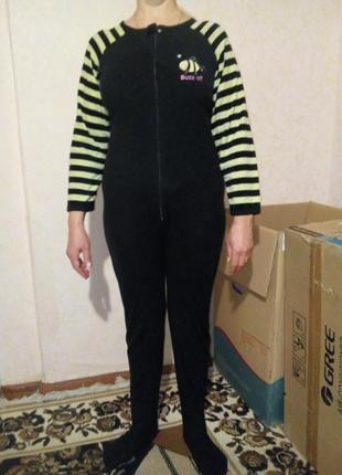 Кигуруми флисовая пижама размер s