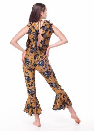 Шикарный шелковый комбез от украинского бренда flamingogirl