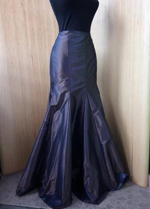 Длинная юбка шелк ацетат stils