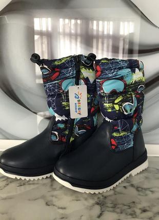 Новые сапоги, сапожки, дутики, ботинки, чобітки, чоботи зимові, зимние