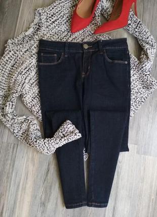 Стильные плотные джинсы скинни tu
