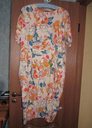 Невероятное платье миди от asos р.20 4xl. хит продаж!