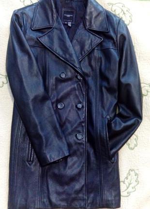 Кожаная куртка/ жакет/ пиджак colebrook&co