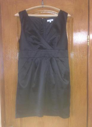 Чёрное короткое платье,new look