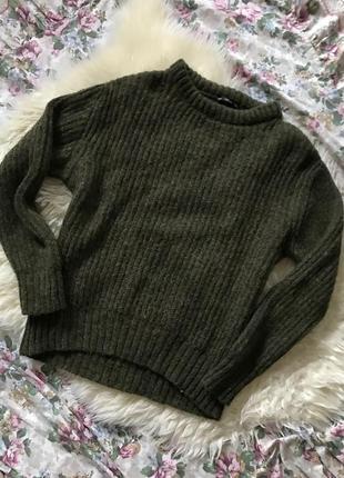 Zara свитер в составе мохер